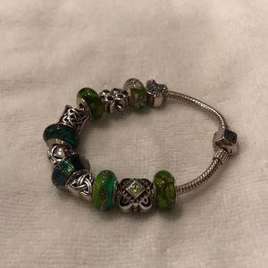 Chamilia and Silverado Irish bracelet